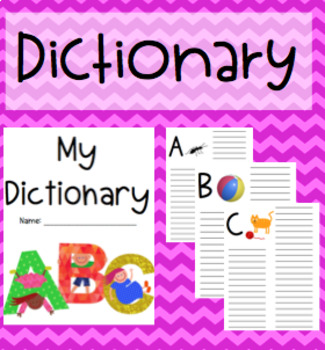 Personal Dictionary {Suits all ages}
