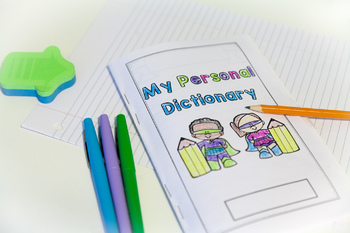 Personal Dictionary Word Wall Book