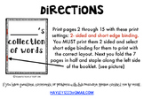 Personal Dictionary (Fry's 1st 300 words included)