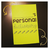 Personal Dictionary for Students