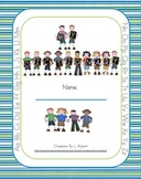 Personal Dictionary for Students - Alphabet Kids Theme