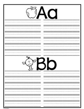 Personal Dictionary or Portable Word Wall Kindergarten First Grade