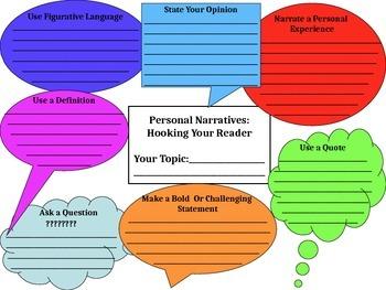 Personal Essay Hook Powerpoint Presentation