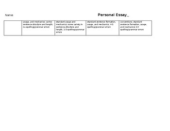 """Personal Essay - The """"Other"""""""