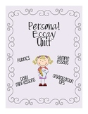 Personal Essay Unit Bundle