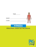 Personal Exercise Program Booklet - Fitness - The PE Project
