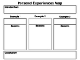 Personal Experiences Writing Map [freebie]
