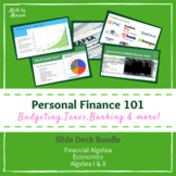 Personal Finance 101 | Introduction to Finance Bundle