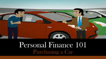 Personal Finance 101:  Purchasing A Car Lesson