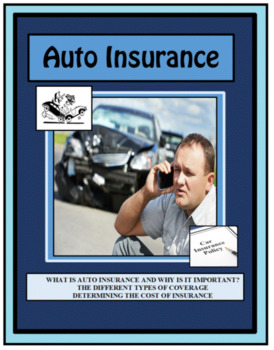 Personal Finance, AUTO INSURANCE, CAR INSURANCE, Life Skills  Financial Literacy