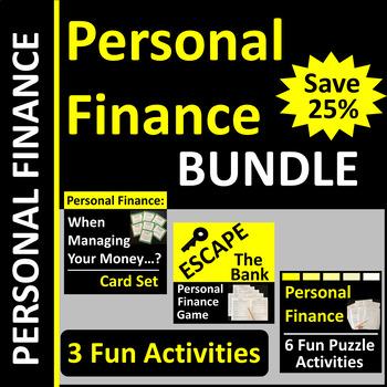 Personal Finance Activity BUNDLE