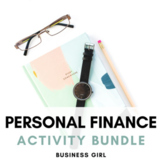 Personal Finance Activity Bundle