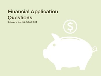 Personal Finance Bell Ringers (FAQs - Financial Aptitude Question of the Day)