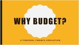 Personal Finance Budget Simulation