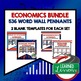 Personal Finance Budgeting and Money Word Wall Pennants (Economics)