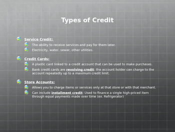 Personal Finance Buying Decisions PowerPoint
