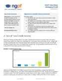 Personal Finance Case Study: A Tale of Two Credit Scores