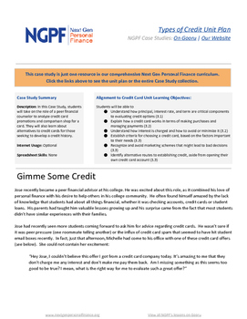 Personal Finance Case Study: Gimme Some Credit