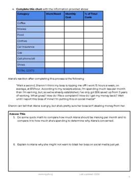 Personal Finance Case Study: How Do I Budget?
