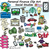 Personal Finance Clip Art - Social Studies - Economics Clip Art