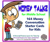 (MS) Personal Finance Conversation Starters for Middle Sch