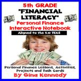 5th Grade Financial Literacy, Personal Finance Math Unit 5.10