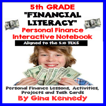 5th Grade Financial Literacy, Personal Finance Unit 5.10