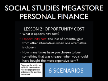 Personal Finance Lesson - 21 lessons with Activities and PPT