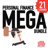 Personal Finance Lessons - 21 lessons with Activities and PPT Bundle