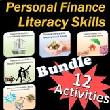 Personal Finance Literacy Skills Activity Bundle ++ Bonus Files