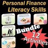 Personal Finance Literacy Skills Activity Bundle ++ Bonus Files
