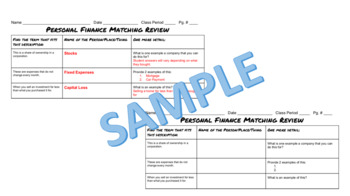 Personal Finance Matching+ Review
