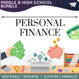 Personal Finance Math Resources Activities
