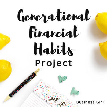 Money Habits of a Generation Infographic Research Project (Personal Finance)