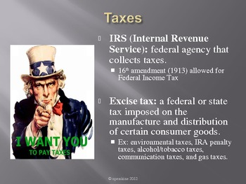 Personal Finance PPT: Taxes