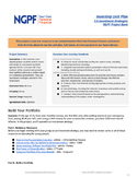 Personal Finance Project: Build Your Portfolio