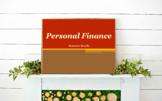 Personal Finance SEMESTER Bundle // Checking//Savings//Per