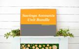 Personal Finance: Savings Account Unit Bundle
