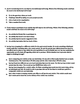 Personal Finance Test Questions Bank / Final Exam Review Guide Test