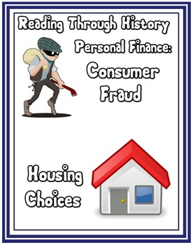Personal Finance V: Consumer Fraud and Housing Choices