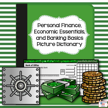 Personal Finance and Banking Basics Picture Dictionary