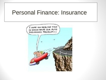 Personal Finance and Health: Insurance PPT