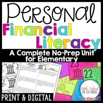 Personal Financial Literacy - No Prep Unit