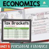Personal Finance for Economics Complete Unit