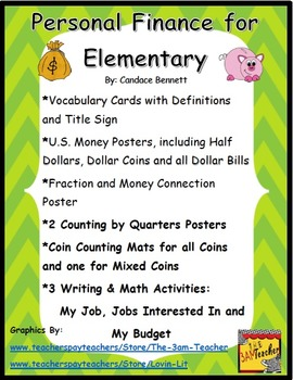 Personal Finance for Elementary