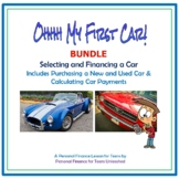 Buying and Financing a Car (Bundle): A Financial Literacy Assignment