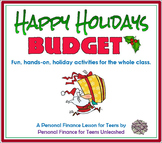Happy Holidays Budget: A Financial Literacy Assignment