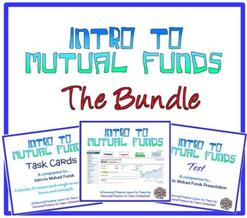 Intro to Mutual Funds (Bundle): A Financial Literacy Assignment