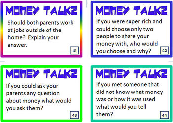 Personal Finance Conversation Starters for Middle School (Financial Literacy)