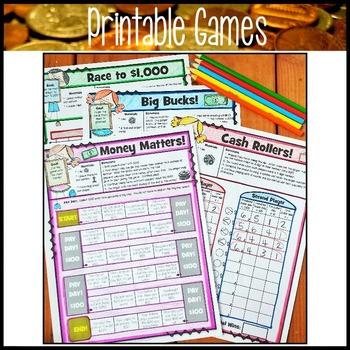 Personal Financial Literacy: Third Grade Math Unit